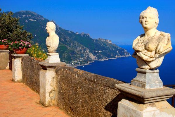 MIrador del infinito en Salerno