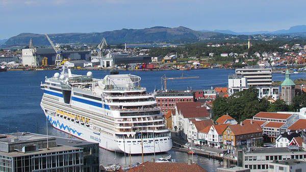Crucero en Stavanger