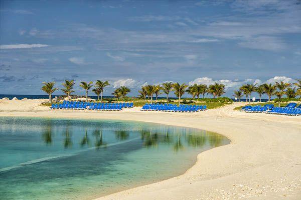 Playa en Great Stirrup Cay