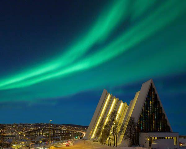 Catedral del Ártico en Tromso