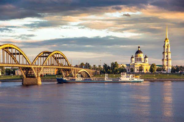 Crucero por el Volga