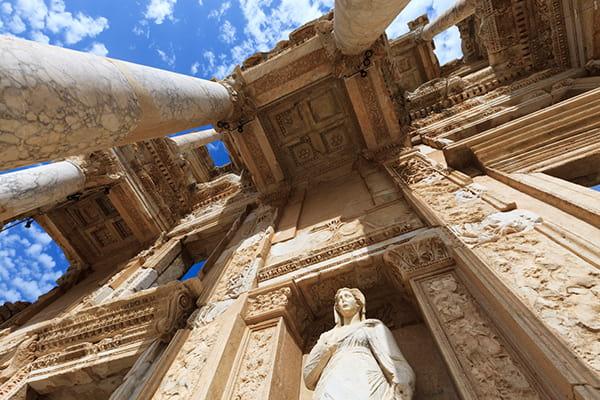 Biblioteca del celso en Éfeso