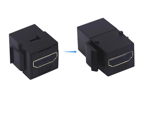 46547577 - HDMI Keystone Jack, Extension Cable and Insert