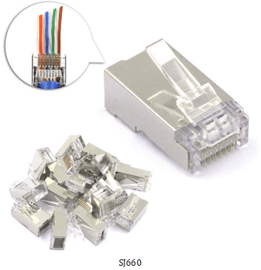 660 - What Types of RJ45 connectors I need?
