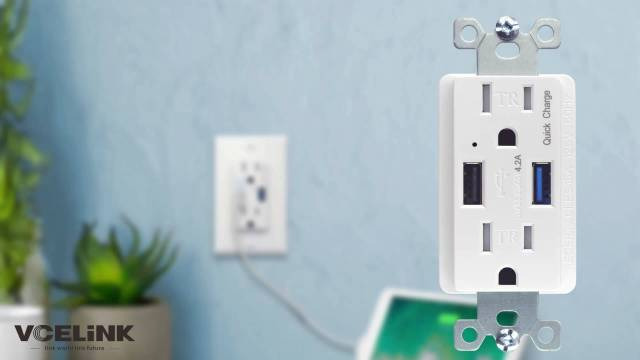 USB Wall Outlet Unboxing 8 1024x576 - Enjoy The Fun Of Charging——VCELINK QC3.0 USB Wall Outlet Unboxing