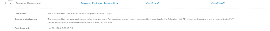 Password expiration, read the details