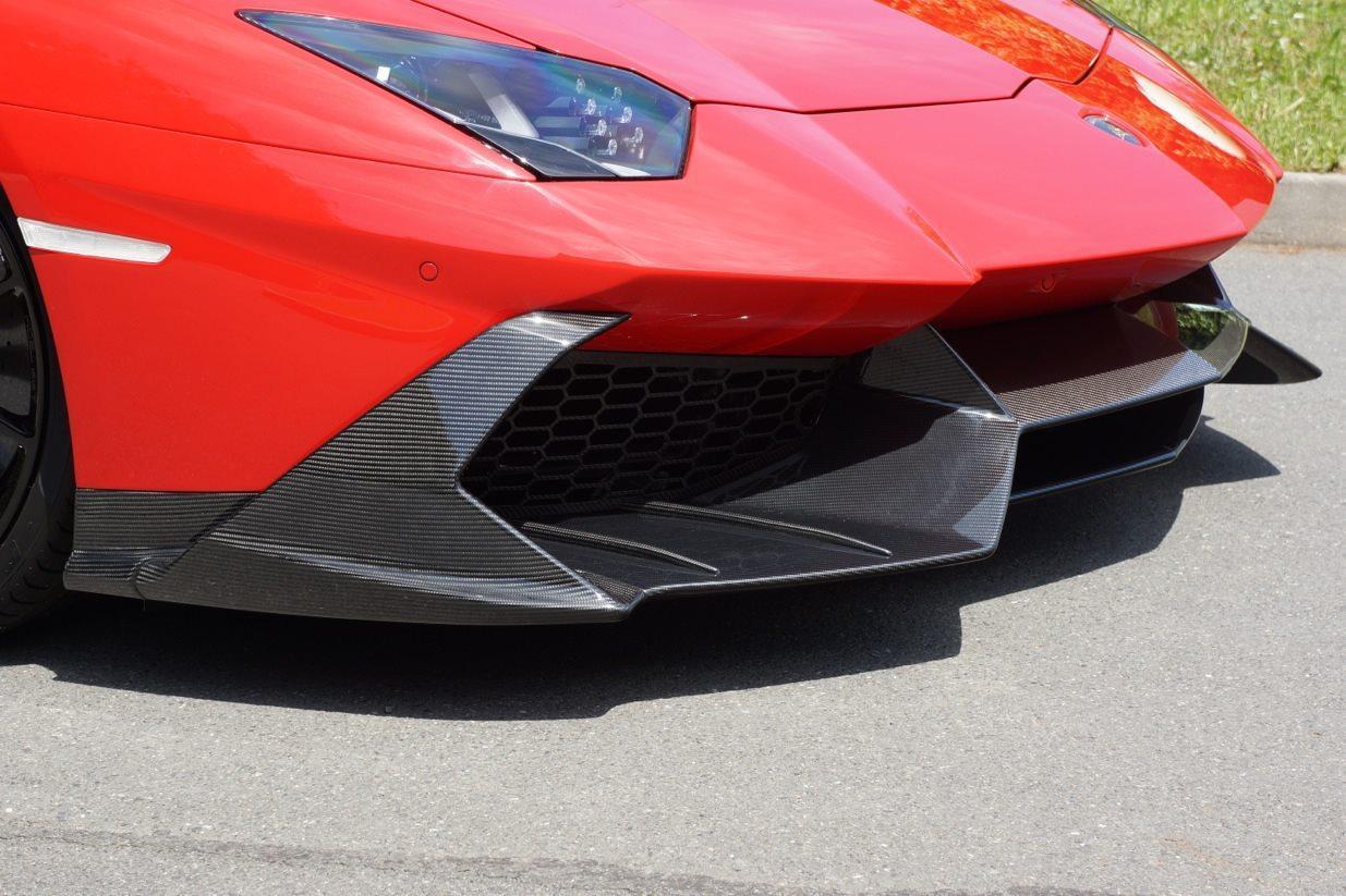 Lamborghini Aventador With A Mansory Body Kit