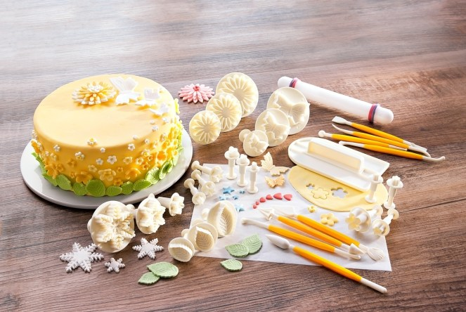 zdobeni dortu sada vykrajovatka plnka