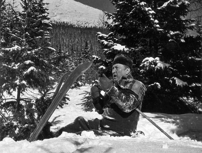 Slavný film Anděl na horách a Jaroslav Marvan na lyžích