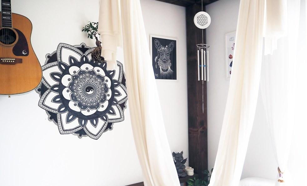 dekorace s květem života
