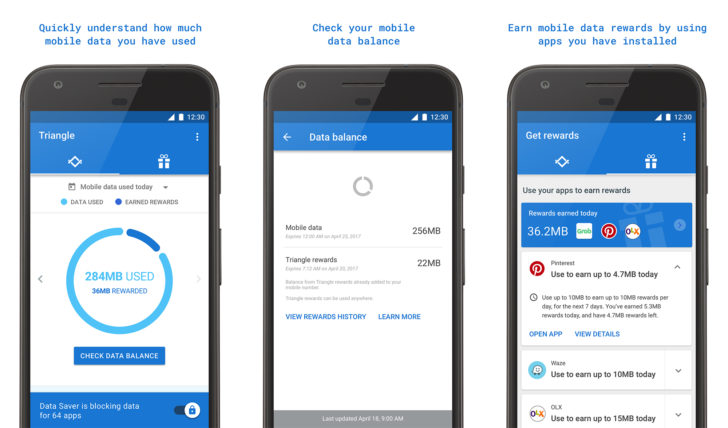 Google controla consumo de datos móviles