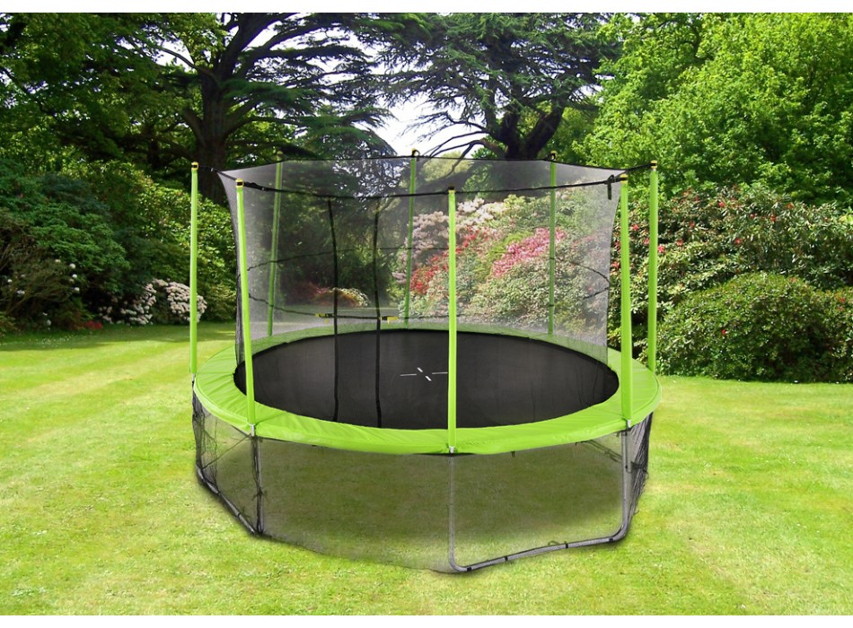 Un trampoline dans votre jardin  Pourquoi pas   Le blog de Venteuniquecom