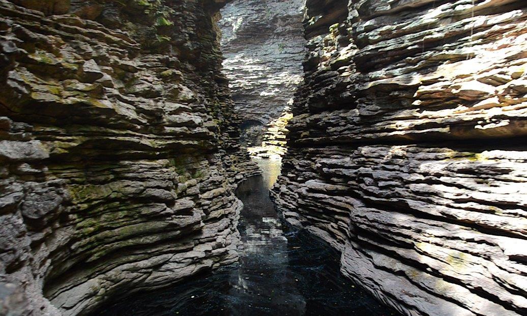 Acesso à Cachoeira do Buracão