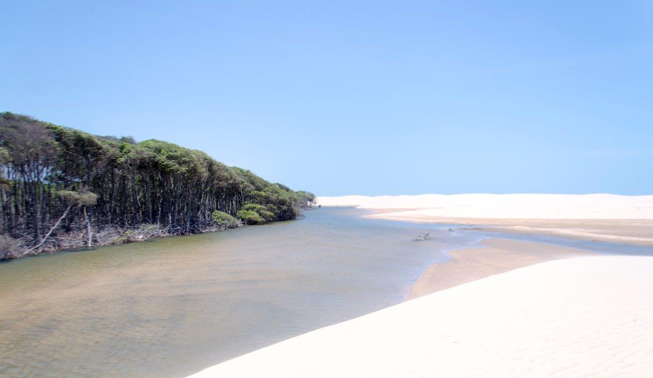 Praia do Feijão Bravo, Delta do Parnaíba.