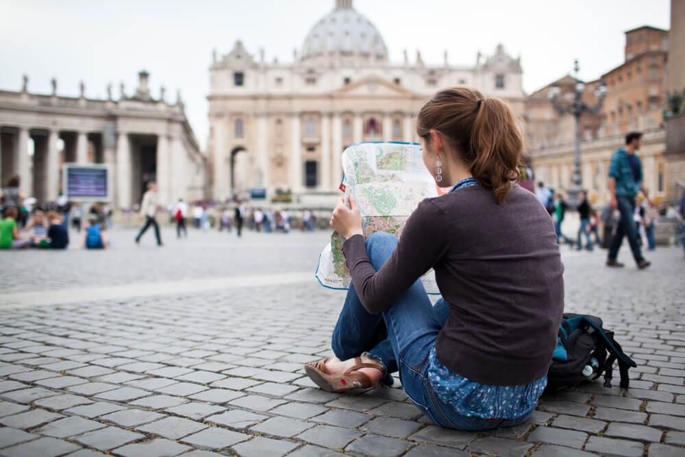 Viajar sozinho tem vntagens