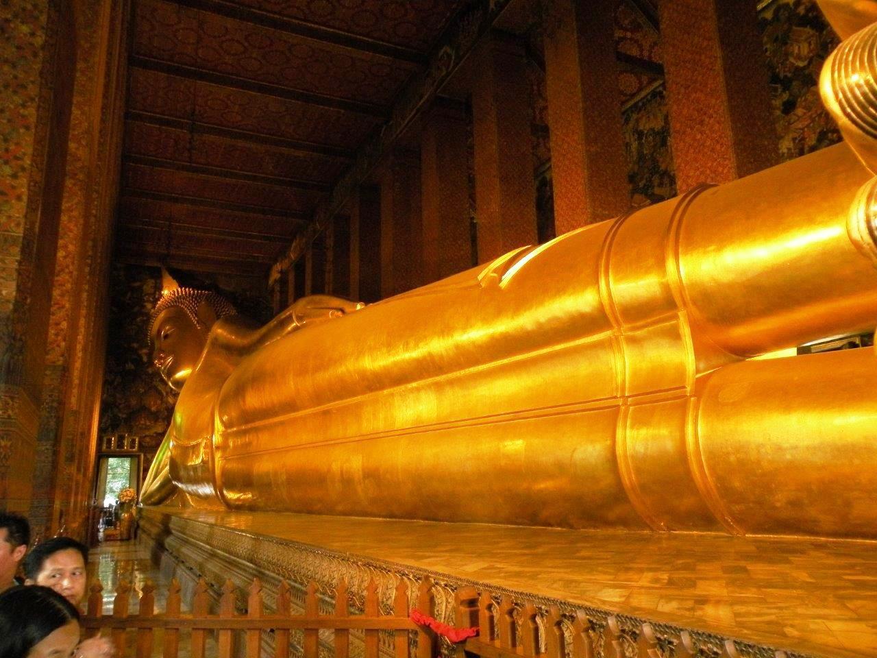 Buda deitado em Bangkok