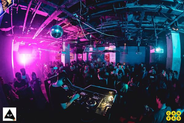 lifestyle entertainment venue with dj