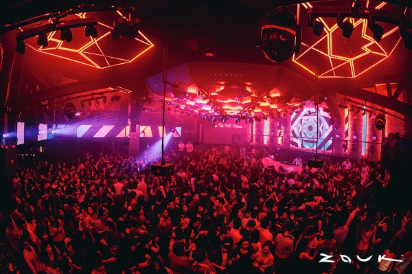 nightlife crowded situation at zouk