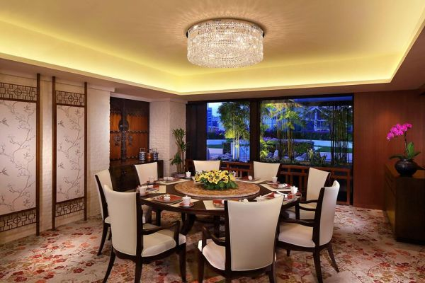 private dining room of cherry garden