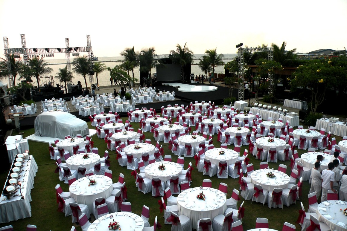 outdoor sea view venue in jakarta