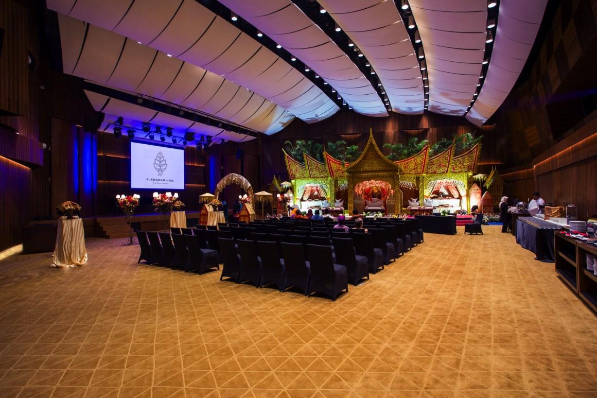 indoor intimate wedding space in jakarta