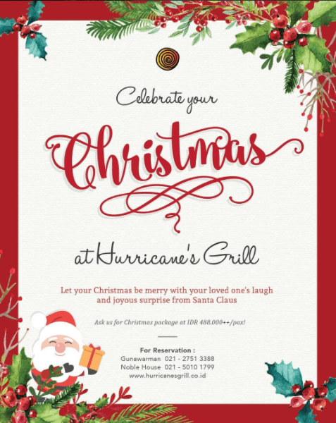 Hurricane's-grill-christmas-promotion-venuerific-blog-lunch-dinner