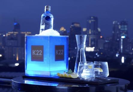 Drinks at K22 Bar Jakarta