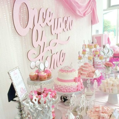 Princess themes girl baby shower