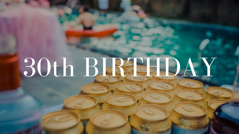 30th Birthday Party Celebration Package on Venuerific