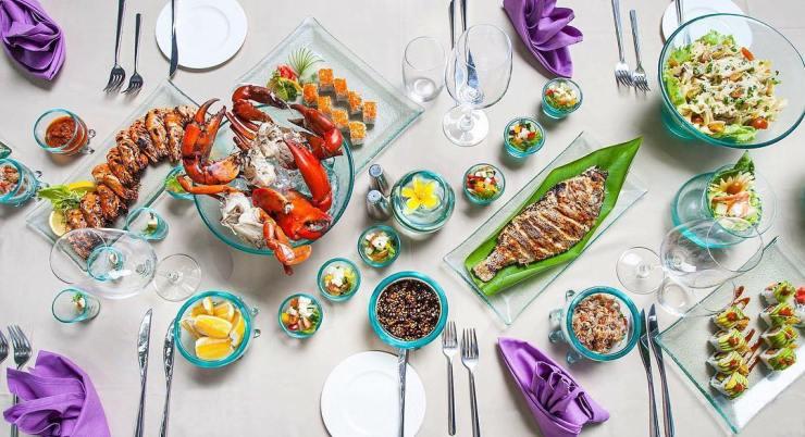 The Laguna Resort & Spa Bali food