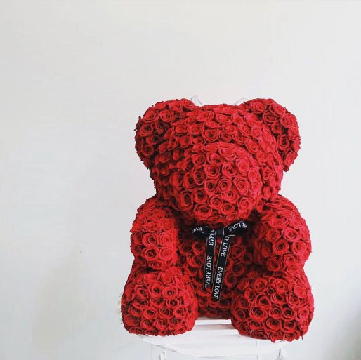 venuerific-nicole-flower-red-flower-bear-proposal in singapore