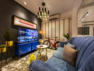 Karaoke and Netflix at The Honest Project Hangout Place in Singapore