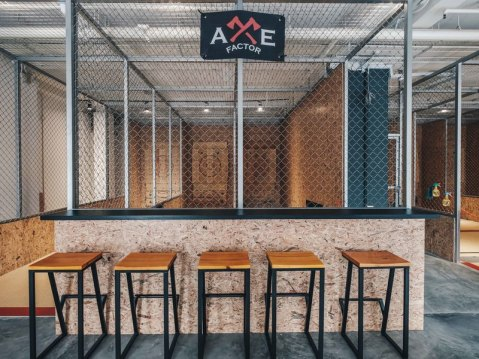Picture of the event space Axe Factor