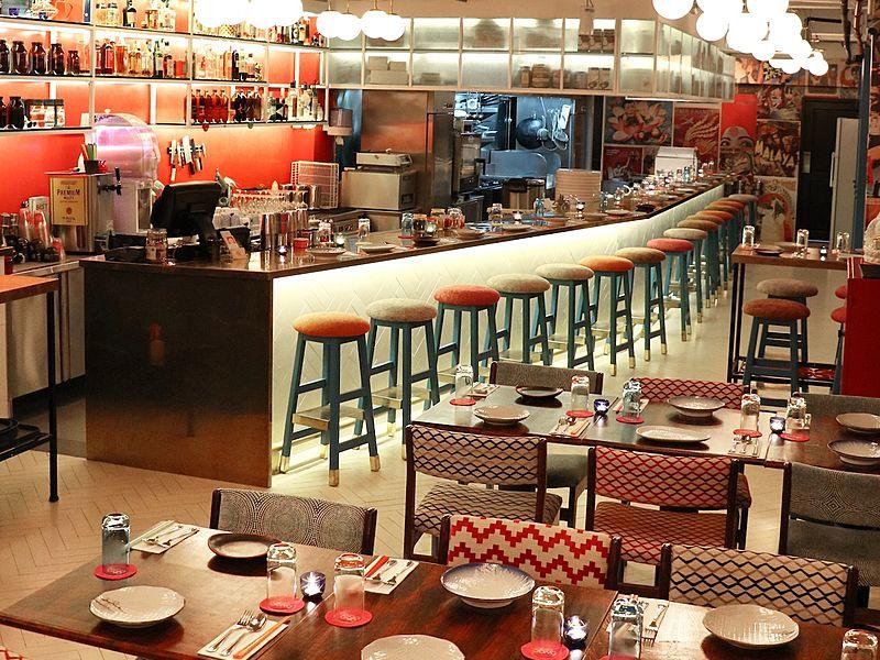 oriental indoor restaurant by ding dong