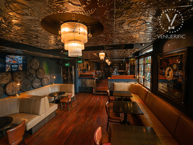 Vintage and retro interior design at the malt room