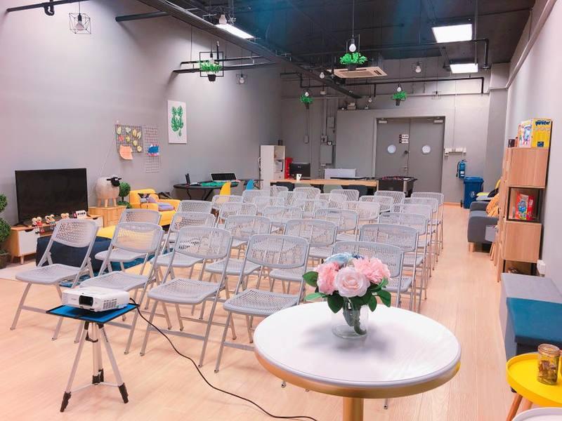 event venue with seminar training setting