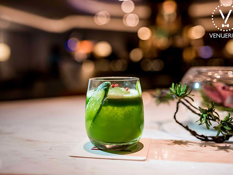 artisanal green cocktails bar intermezzo