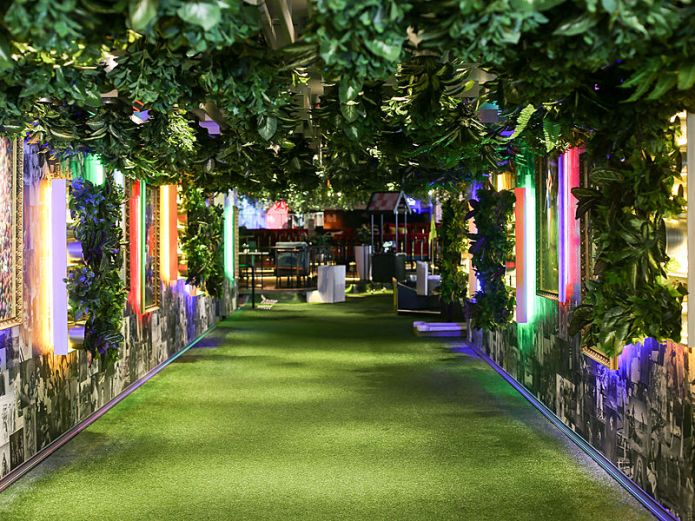 event space in Singapore with mini golf