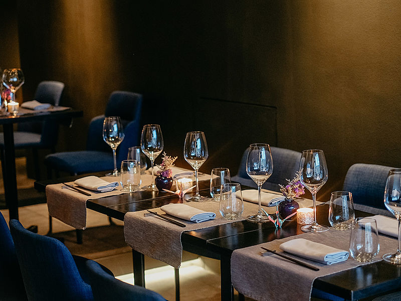 sophisticated urban setting perfect for private fine dining