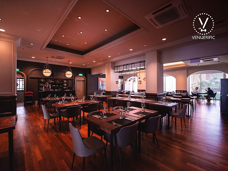 intimate and clasic restaurant for private fine dining