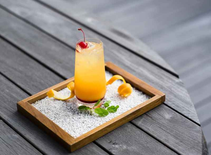 Tasty drink for hot sunny day at BART Artotel Thamrin
