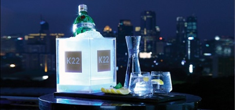 Amazing night only at K22 Fairmont Hotel Jakarta