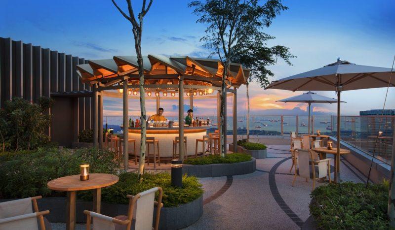 beautiful rooftop bar around Marina Bay Mr Stork Singapore