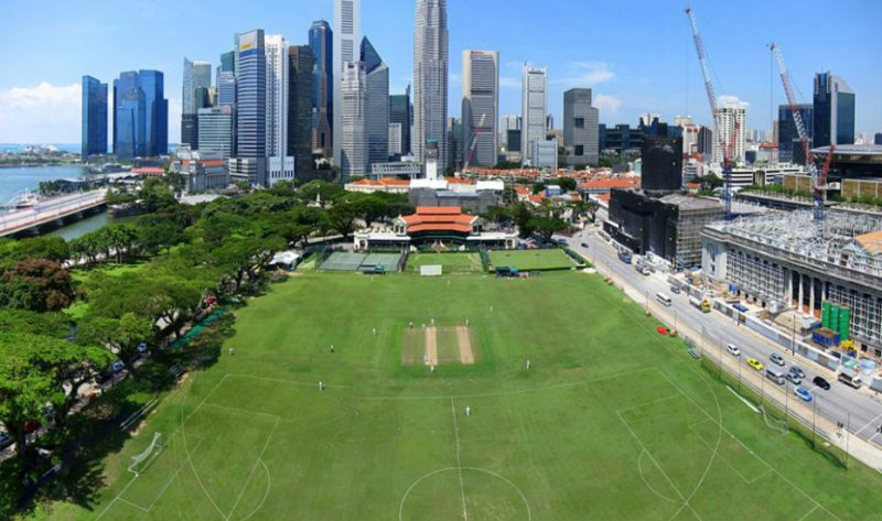 One of the historical place in Singapore, Singapore Cricket Club