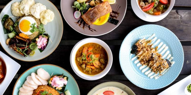 The beautiful yet delicious food from Wyl's Kitchen Jakarta