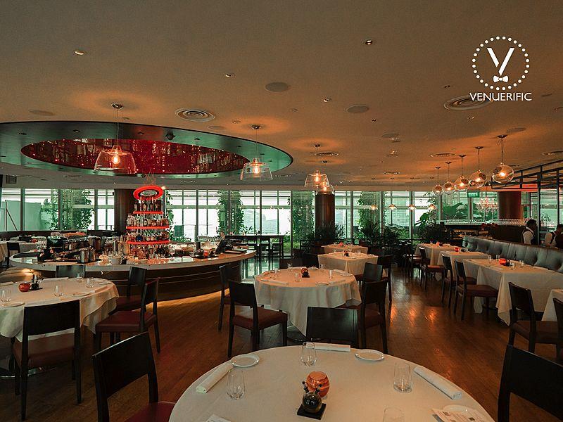 Embracing venue Zafferano Italian Restaurant & Lounge singapore
