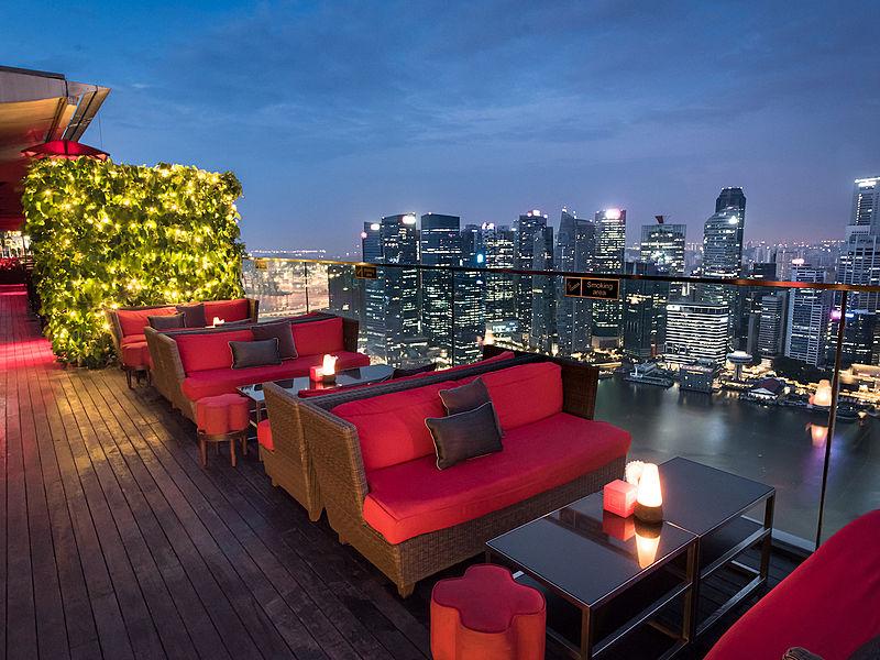 ce la vi exclusive rooftop bar singapore