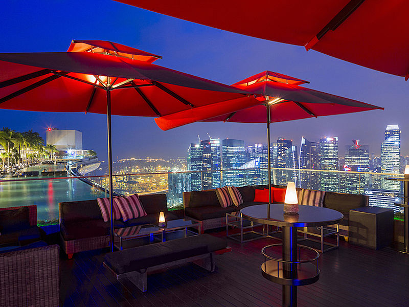 one of the best rooftop bar in singapore with nice view