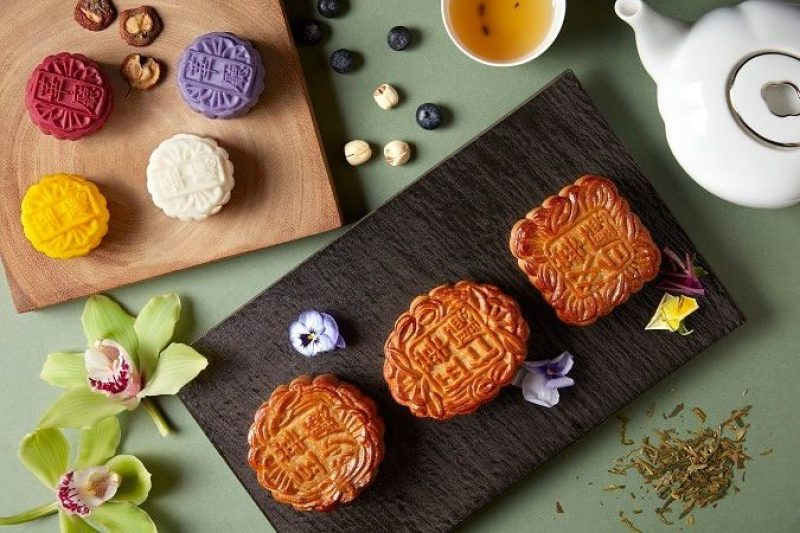 mooncake inspired by childhood traditional snack