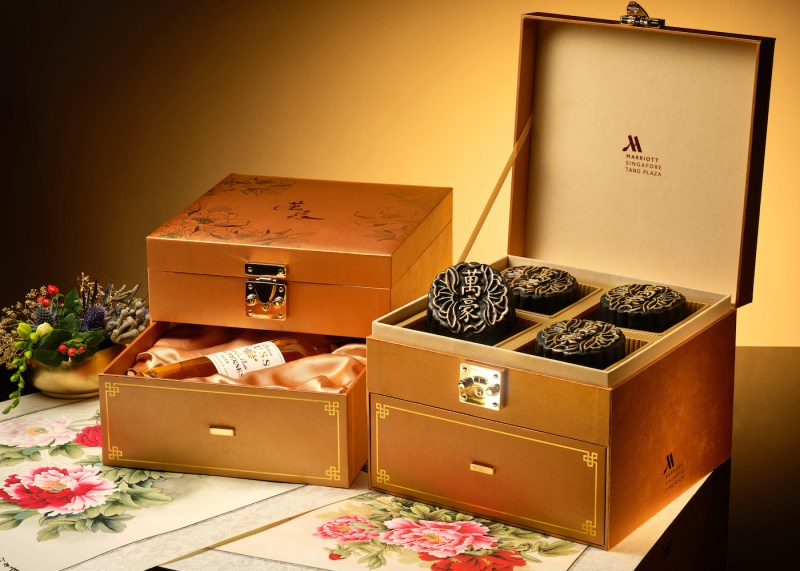 elegant premium gift set for mid autumn festival singapore